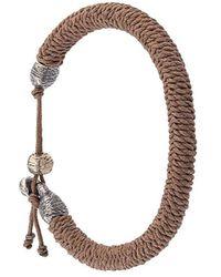 M. Cohen Woven Bracelet - Meerkleurig