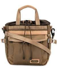 AS2OV Canvas Shoulder Bag - Multicolor