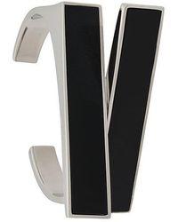 Saint Laurent - Rectangular Cuff Bracelet - Lyst