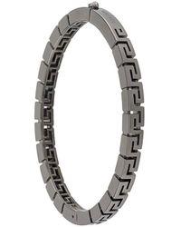 Versace Браслет С Логотипом - Металлик