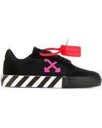Off-White c/o Virgil Abloh Arrow Logo Sneakers - Black