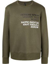 Neil Barrett 'Idiom' Sweatshirt - Grün