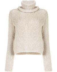 Hermès Maglione a collo alto Pre-owned - Neutro
