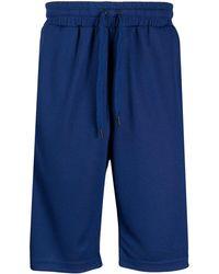 Kappa Short de bain à bande logo - Bleu