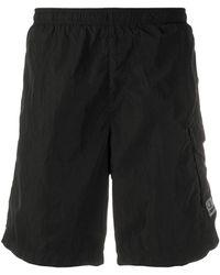 C P Company Cargo Shorts - Black