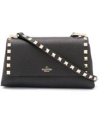 Valentino Garavani Rockstud Crossbody Bag - Black