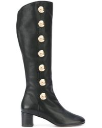 Chloé Patent Leather Lace-Up Booties buy cheap low cost cheap sast buy cheap Inexpensive QoUUYeI