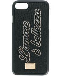 Dolce & Gabbana L'amore È Bellezza Iphone 6/6s Case - Black