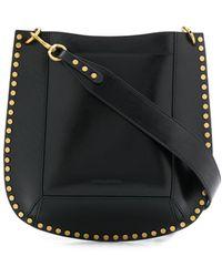 Isabel Marant Studded Shoulder Bag - Black