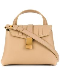 Agnona Py Medium Tote Bag - Multicolor