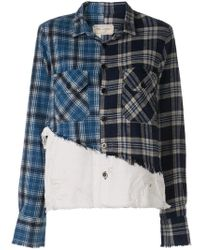 Greg Lauren - Patchwork Shirt - Lyst