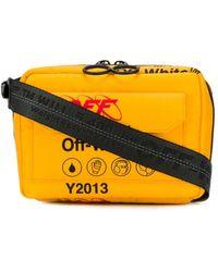 Off-White c/o Virgil Abloh Industrial Travel Shoulder Bag - Yellow
