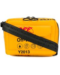 Off-White c/o Virgil Abloh - Industrial Travel Shoulder Bag - Lyst