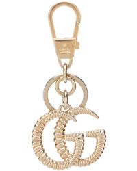 Gucci Брелок Torchon С Логотипом GG - Металлик