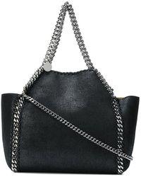 Stella McCartney Trapeze Falabella Shoulder Bag - Zwart