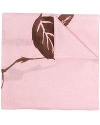Jacquemus Платок С Принтом - Розовый