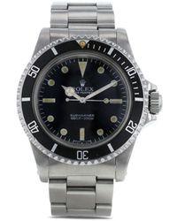 Rolex Наручные Часы Submariner Pre-owned 40 Мм 1982-го Года - Черный