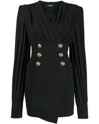 Balmain - デコラティブ ドレス - Lyst
