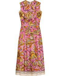 Gucci - フローラルプリント ドレス - Lyst