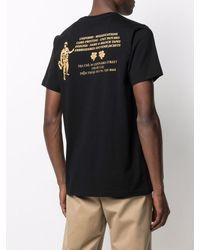 Maharishi T-Shirt aus Bio-Baumwolle - Schwarz