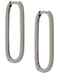 Astley Clarke - Piet Oval Hoop Earrings - Lyst
