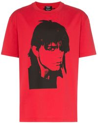 CALVIN KLEIN 205W39NYC プリント Tシャツ - レッド