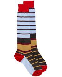 Marni - Long Striped Socks - Lyst