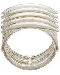 Shaun Leane Quill Signet Ring - Metallic