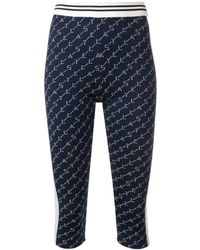 Stella McCartney Logo Cycling Shorts - Blue