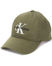 Calvin Klein Casquette à logo - Vert