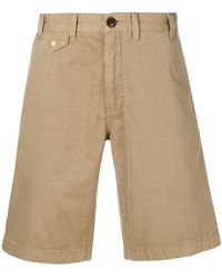Barbour - Stone-washed Shorts - Lyst