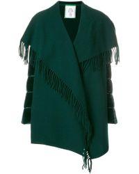 Moncler - Draped Shawl Cardi-coat - Lyst