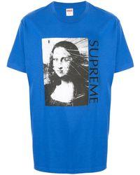 Supreme - Mona Lisa Tシャツ - Lyst