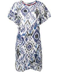 Bazar Deluxe Aztec Print Dress - Blue
