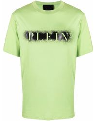 Philipp Plein ロゴ Tシャツ - グリーン