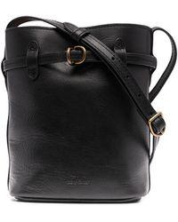 Polo Ralph Lauren Mini Bellport Bucket Bag - Black