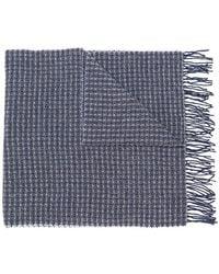 Hackett - Waffle Knit Scarf - Lyst