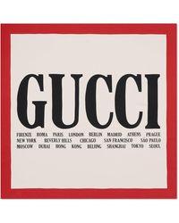 Gucci - グッチ シティ プリント スカーフ - Lyst