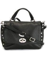 Zanellato Baby Postina Satchel Bag - Black