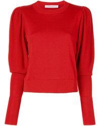 Carolina Herrera ロングカフスセーター - マルチカラー