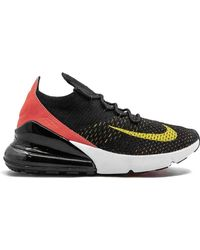 Nike Air Max 270 Flyknit Trainers - Black