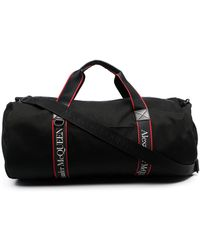 Alexander McQueen Metropolitan Selvedge Duffle Bag - Black