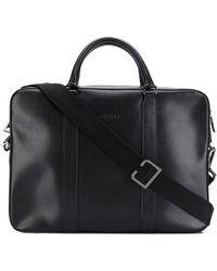 Canali Laptop Bag - Black