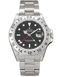 Rolex Наручные Часы Explorer Ii Pre-owned 40 Мм 1984-го Года - Черный