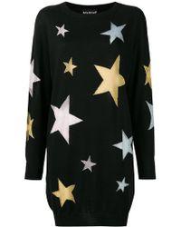 ec974a9f7e7 Boutique Moschino - Star Intarsia Knit Dress - Lyst