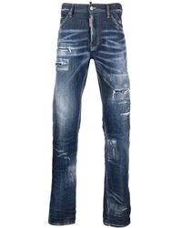 DSquared² - Jeans con effetto vissuto - Lyst