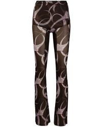 CHARLOTTE KNOWLES Halcyon leggings - Brown