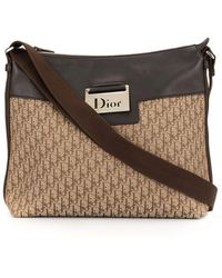 Dior Borsa a spalla Street Chic Trotter - Marrone