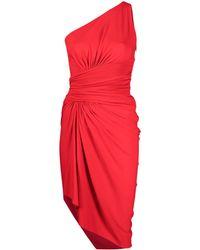 Alexandre Vauthier - Asymmetric One-shoulder Draped Dress - Lyst