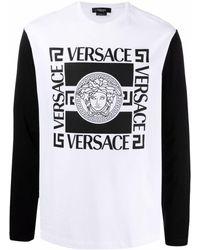 Versace Camiseta con motivo Medusa - Blanco